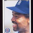 1990 Upper Deck Baseball #348 Chet Lemon - Detroit Tigers