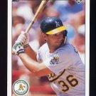1990 Upper Deck Baseball #246 Terry Steinbach - Oakland A's