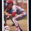 1990 Upper Deck Baseball #186 Todd Benzinger - Cincinnati Reds