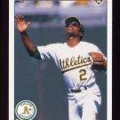 1990 Upper Deck Baseball #154 Tony Phillips - Oakland A's