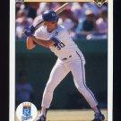 1990 Upper Deck Baseball #142 Pat Tabler - Kansas City Royals