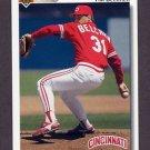 1992 Upper Deck Baseball #761 Tim Belcher - Cincinnati Reds