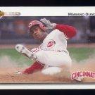 1992 Upper Deck Baseball #659 Mariano Duncan - Cincinnati Reds