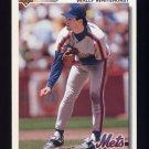1992 Upper Deck Baseball #414 Wally Whitehurst - New York Mets