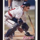 1992 Upper Deck Baseball #304 Mike Heath - Atlanta Braves