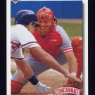 1992 Upper Deck Baseball #101 Joe Oliver - Cincinnati Reds