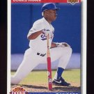1992 Upper Deck Baseball #011 Donald Harris SR - Texas Rangers