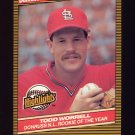 1986 Donruss Highlights Baseball #54 Todd Worrell - St. Louis Cardinals