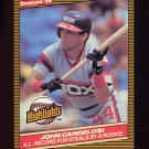 1986 Donruss Highlights Baseball #51 John Cangelosi - Chicago White Sox