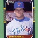 1987 Donruss Baseball #651 Bob Brower - Texas Rangers