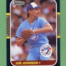 1987 Donruss Baseball #650 Joe Johnson - Toronto Blue Jays