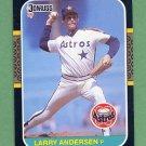1987 Donruss Baseball #640 Larry Andersen - Houston Astros