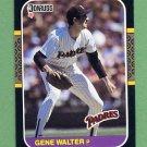 1987 Donruss Baseball #511 Gene Walter - San Diego Padres