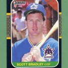 1987 Donruss Baseball #440 Scott Bradley - Seattle Mariners
