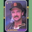 1987 Donruss Baseball #360 Ed Whitson - San Diego Padres