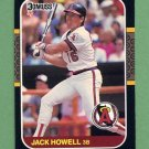 1987 Donruss Baseball #305 Jack Howell - California Angels
