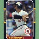 1987 Donruss Baseball #294 Rick Dempsey - Baltimore Orioles ExMt