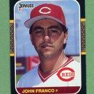 1987 Donruss Baseball #289 John Franco - Cincinnati Reds