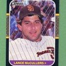 1987 Donruss Baseball #237 Lance McCullers - San Diego Padres
