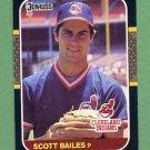 1987 Donruss Baseball #227 Scott Bailes - Cleveland Indians