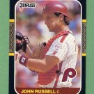 1987 Donruss Baseball #207 John Russell - Philadelphia Phillies