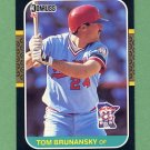 1987 Donruss Baseball #194 Tom Brunansky - Minnesota Twins