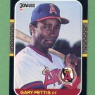 1987 Donruss Baseball #160 Gary Pettis - California Angels