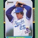 1987 Donruss Baseball #157 Danny Jackson - Kansas City Royals