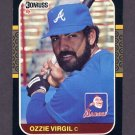 1987 Donruss Baseball #067 Ozzie Virgil - Atlanta Braves
