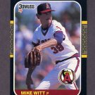 1987 Donruss Baseball #058 Mike Witt - California Angels