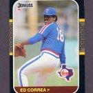 1987 Donruss Baseball #057 Ed Correa - Texas Rangers