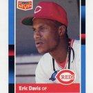1988 Donruss Baseball Bonus MVP's #BC02 Eric Davis - Cincinnati Reds