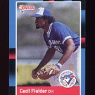 1988 Donruss Baseball #565 Cecil Fielder - Toronto Blue Jays NM-M