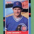1988 Donruss Baseball #561 Les Lancaster - Chicago Cubs