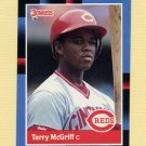 1988 Donruss Baseball #556 Terry McGriff - Cincinnati Reds Ex