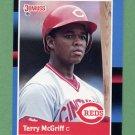1988 Donruss Baseball #556 Terry McGriff - Cincinnati Reds ExMt
