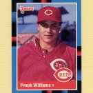 1988 Donruss Baseball #512 Frank Williams - Cincinnati Reds NM-M