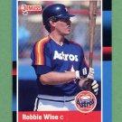 1988 Donruss Baseball #508 Robbie Wine - Houston Astros