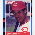1988 Donruss Baseball #492 Barry Larkin - Cincinnati Reds