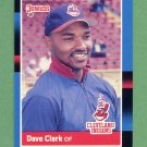 1988 Donruss Baseball #473 Dave Clark - Cleveland Indians