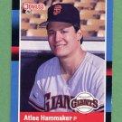 1988 Donruss Baseball #450 Atlee Hammaker - San Francisco Giants