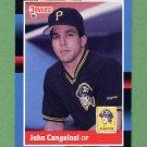 1988 Donruss Baseball #435 John Cangelosi - Pittsburgh Pirates