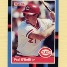 1988 Donruss Baseball #433 Paul O'Neill - Cincinnati Reds NM-M
