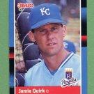 1988 Donruss Baseball #404 Jamie Quirk - Kansas City Royals