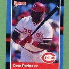 1988 Donruss Baseball #388 Dave Parker - Cincinnati Reds
