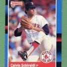 1988 Donruss Baseball #375 Calvin Schiraldi - Boston Red Sox