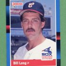 1988 Donruss Baseball #306 Bill Long - Chicago White Sox