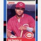 1988 Donruss Baseball #289 Kal Daniels - Cincinnati Reds NM-M