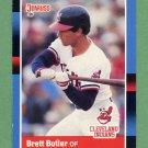 1988 Donruss Baseball #279 Brett Butler - Cleveland Indians