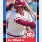 1988 Donruss Baseball #265 Kurt Stillwell - Cincinnati Reds